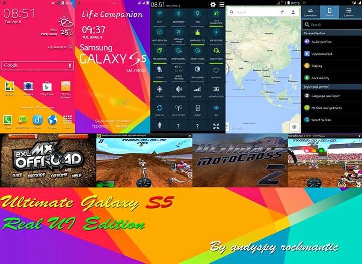 Custom ROM Cross A7S – Ultimate Galaxy S5 [Update